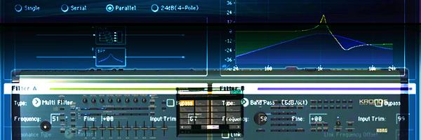 Korg KRONOS - Analog modeling synthesizer AL-1 - 40 примеров звучания