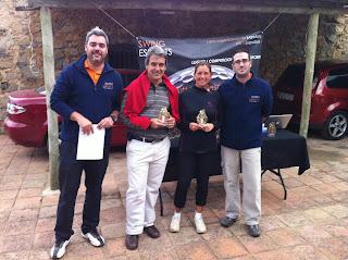 Guanyadors Handicap parelles Pitch and Putt Vallromanes Circuit Swing Esports