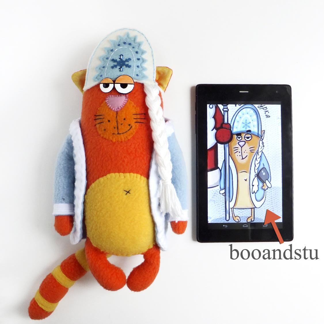 игрушка по иллюстрации booandstu