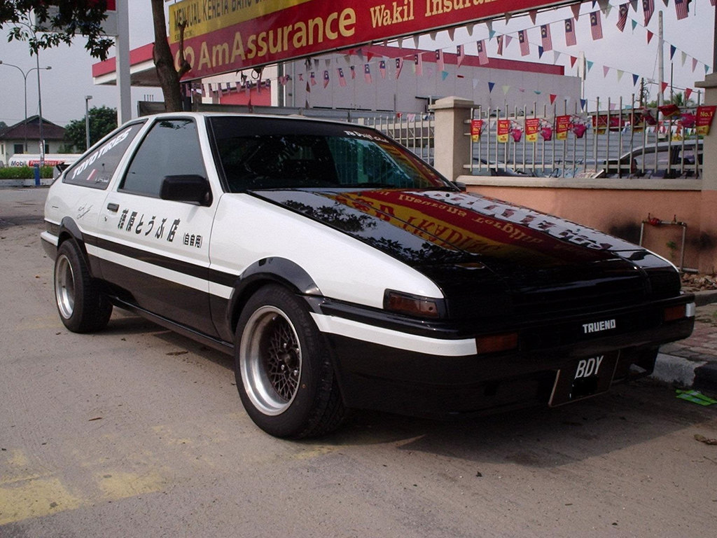 When It Comes To Initial D Two Cars That Stand Out A Lot Would Be The Toyota 86 And Subaru Impreza One Driven By Main Character Other