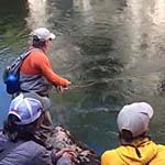 Bienheureux Rio Pico pêche