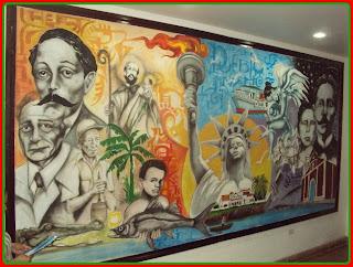 Con gran existo inauguran el for El mural pelicula