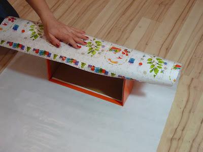 Как обклеить коробку с подарком 41