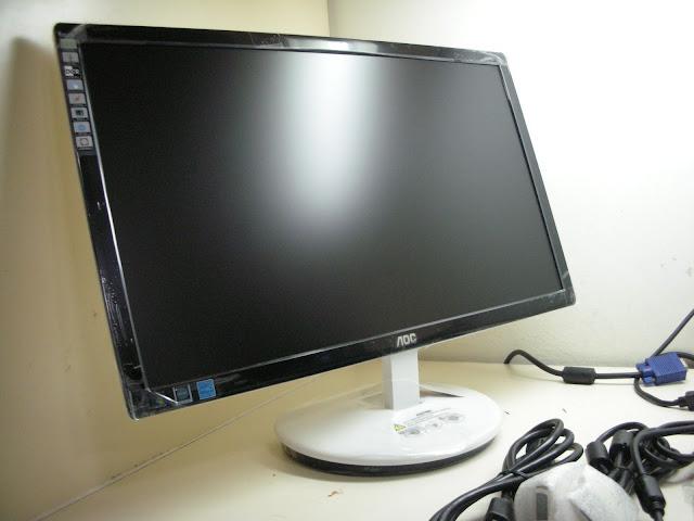 AOC E2243Fw 22型寬LED背光DVI-D超薄FullHD液晶螢幕