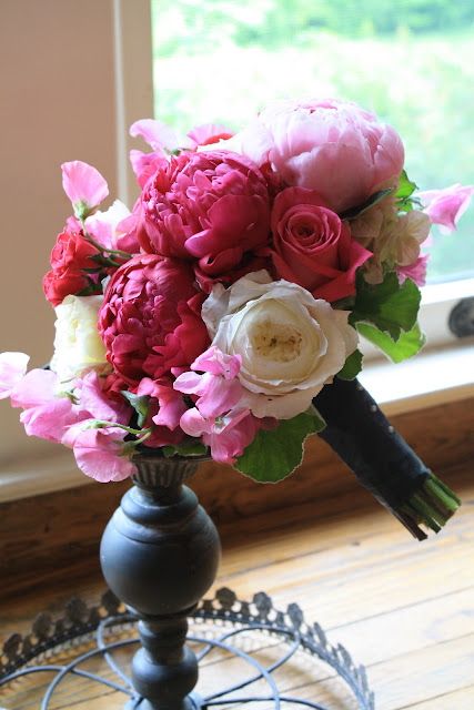 Peony Maid of Honor Bouquet - Splendid Stems Floral Designs