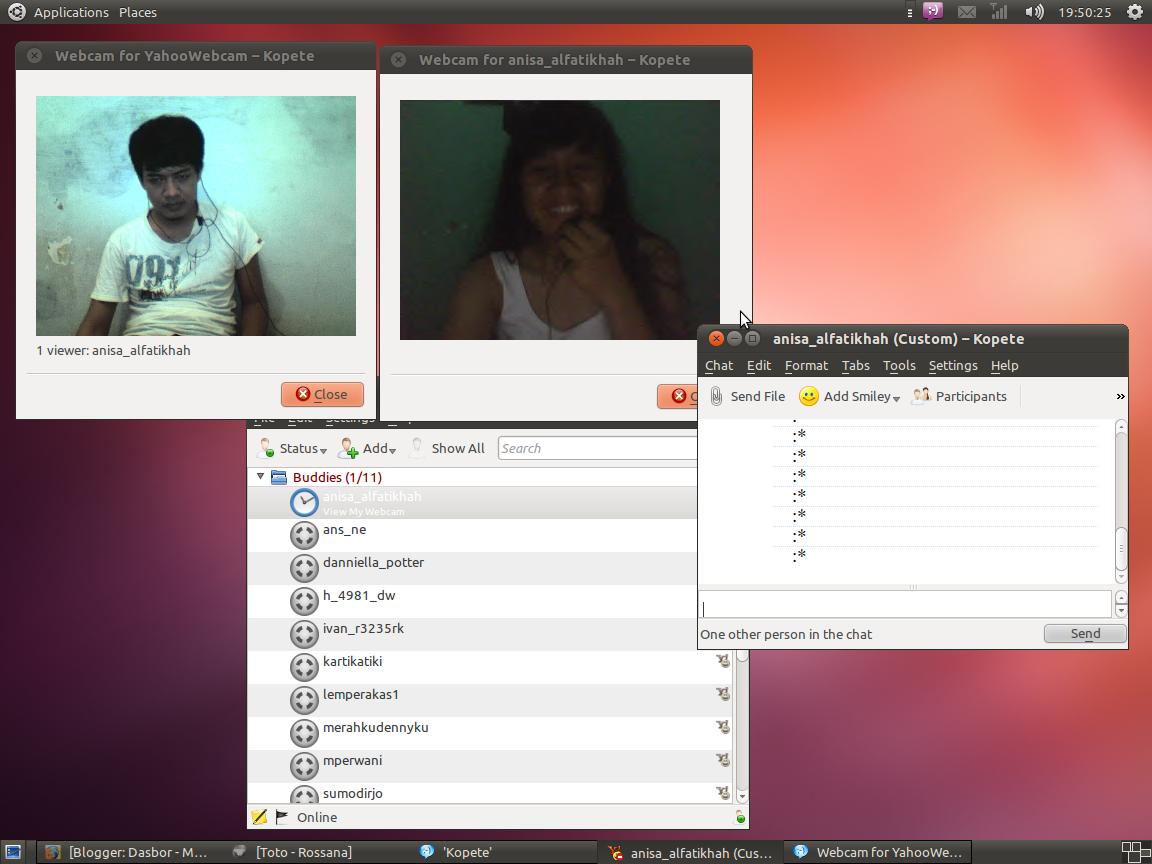 Webcam yahoo messenger brazil 7