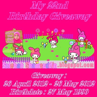 MY 22ND BIRTHDAY GA(26/5)