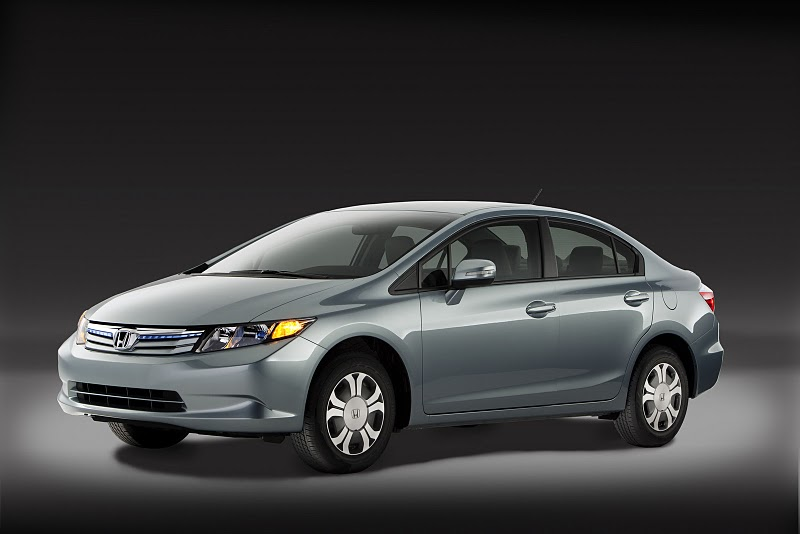 2012 HONDA CIVIC SPECS DATA