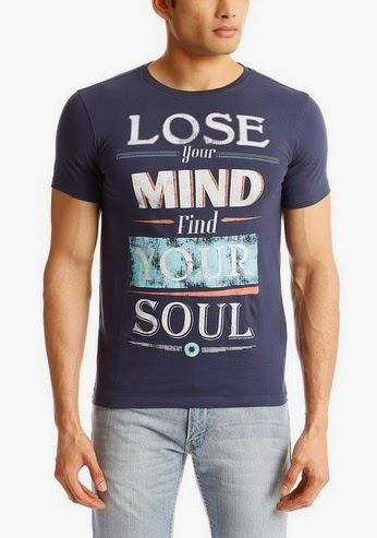 Mens T-Shirts at Rs 399 or less on Flipkart
