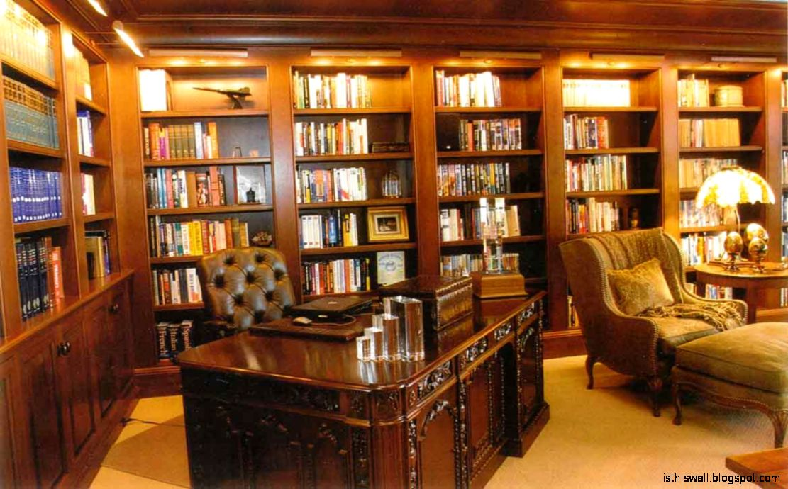 Traditional home library design this wallpapers for Wallpaper traditional home