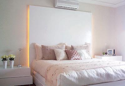 quarto+de+casal+2+branco+Casa+e+Jardim Decoração de quartos na cor branca