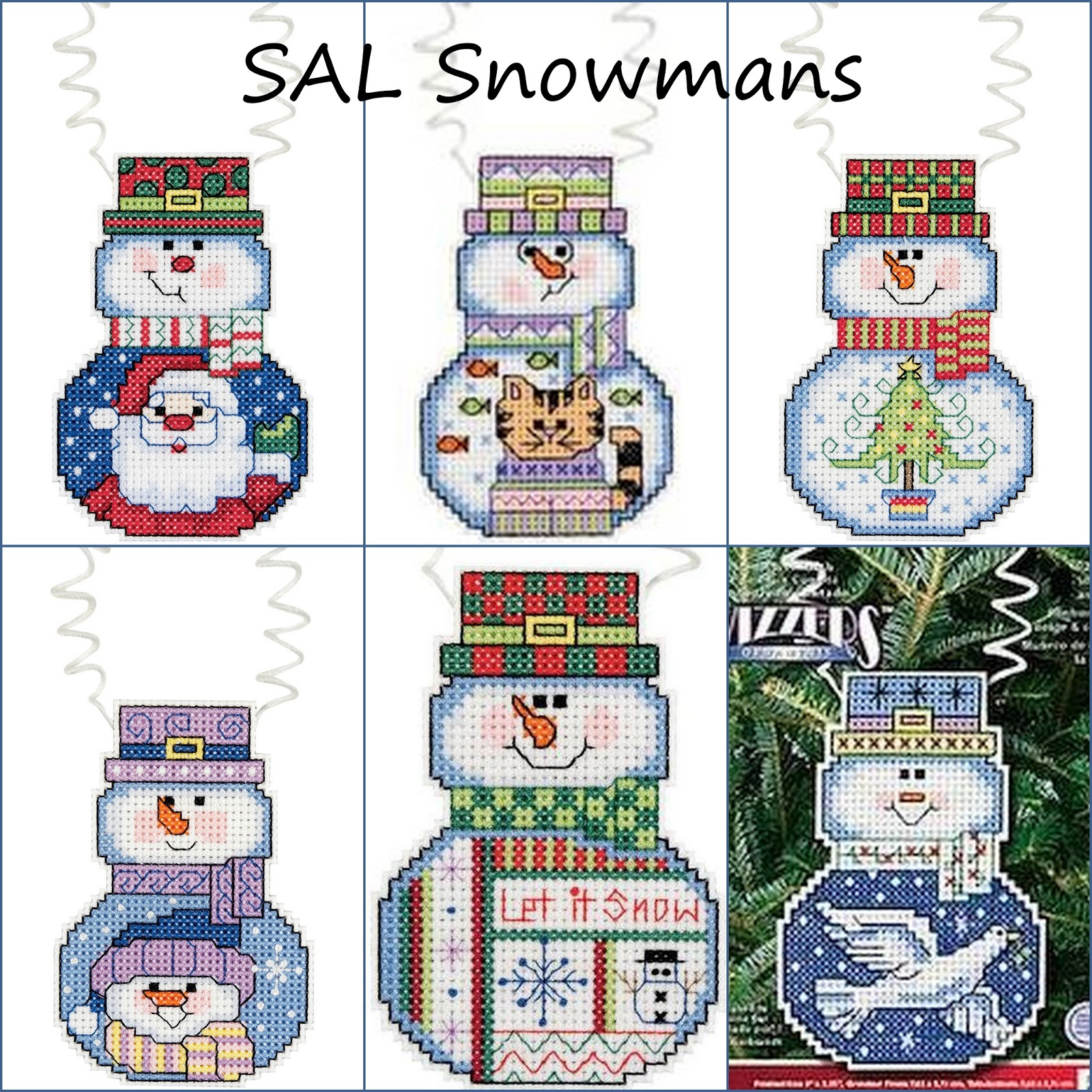 Снеговички от Алёны.