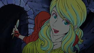 Rebecca Rossellini z anime Lupin III 2015
