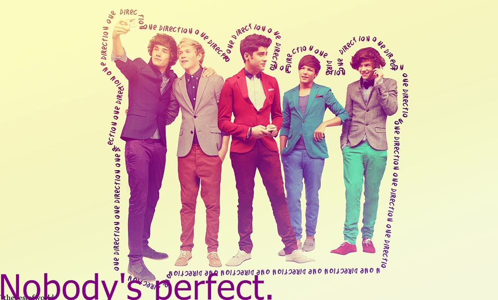 Nobody's perfect..