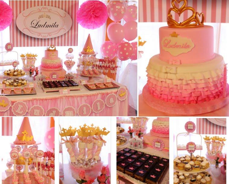 Eventos Personalizados- Tematica Princesa para Ludmila