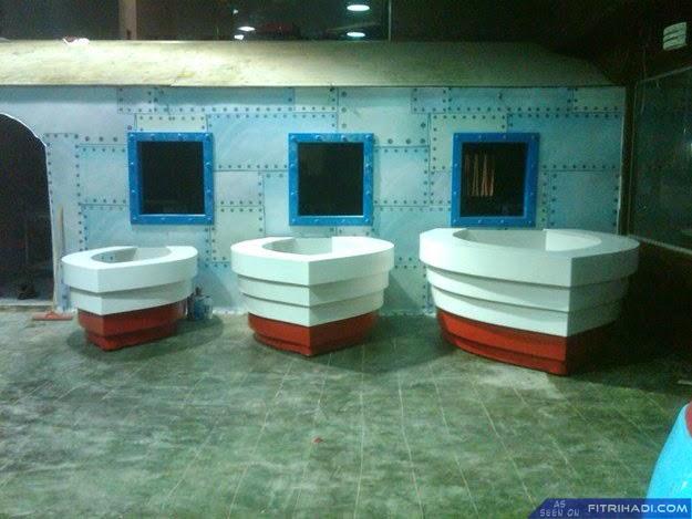 (9 Gambar) Restoran Krusty Krab Sebenar di Palestin
