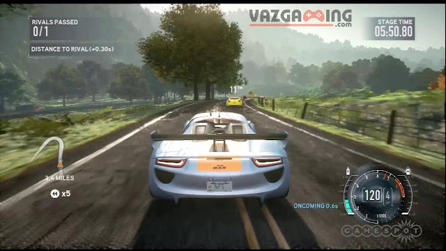 Need For Speed The Run Gameplay 4