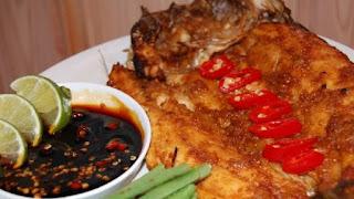 resep ikan panggang saus kecap