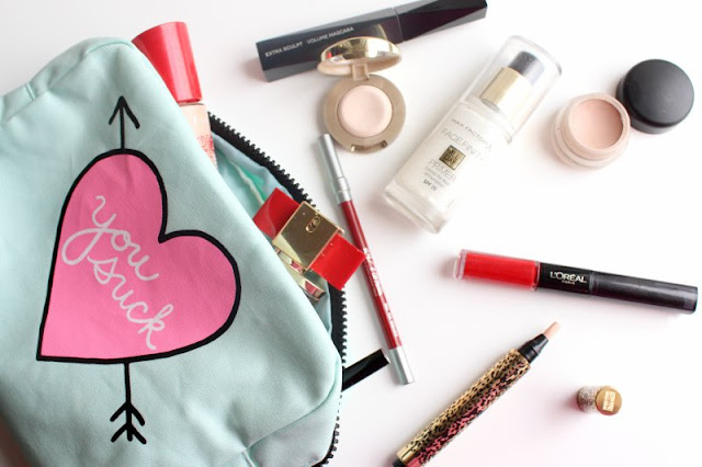A Peek Inside a Teenager's Make Up Bag