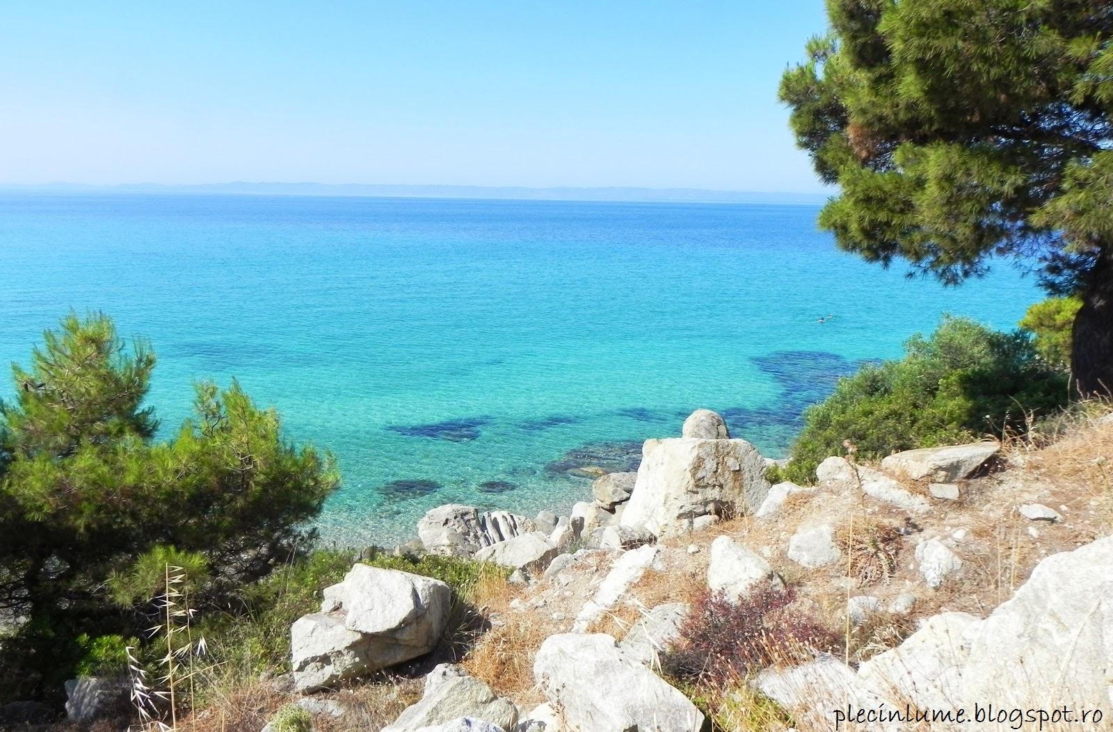 Apa limpede a Greciei