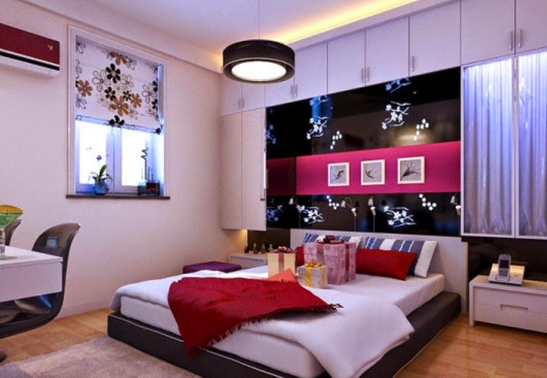 desain interior kamar tidur romantis | interior rumah