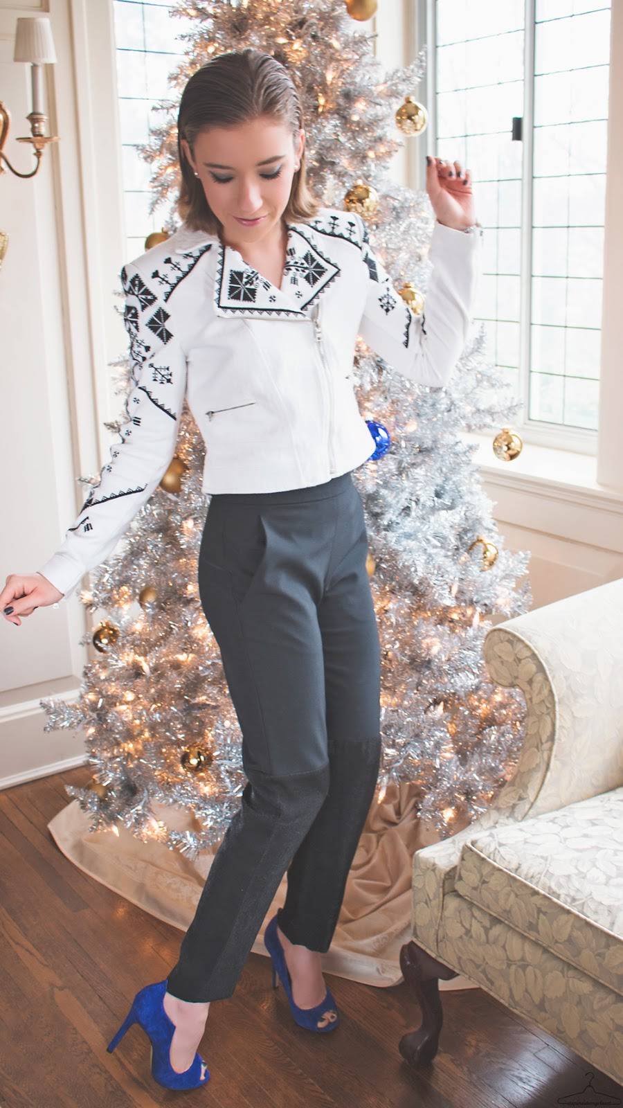 Rockin' Around The Christmas Tree - Step Inside My Closet - BCBGMAXAZRIA, Charles David, lucky, outfit ideas, Philosphy di Lorenzo Serfani, Sponsor, Vegas.com,