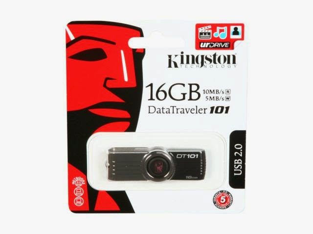 Usb Kingston 16GB DT101 G2 chính hãng USB Kingston 16G DT101 G2 3