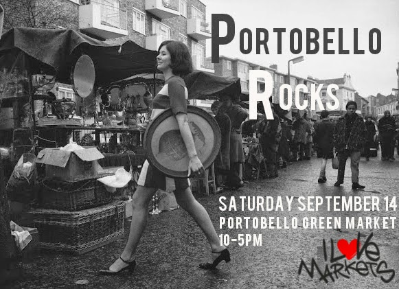 I Love Markets - Portobello Rocks Pop-Up Flyer