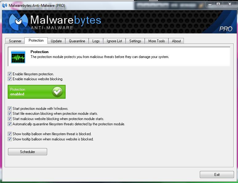 Malware Bites Anti Malware 1.70.1100 full