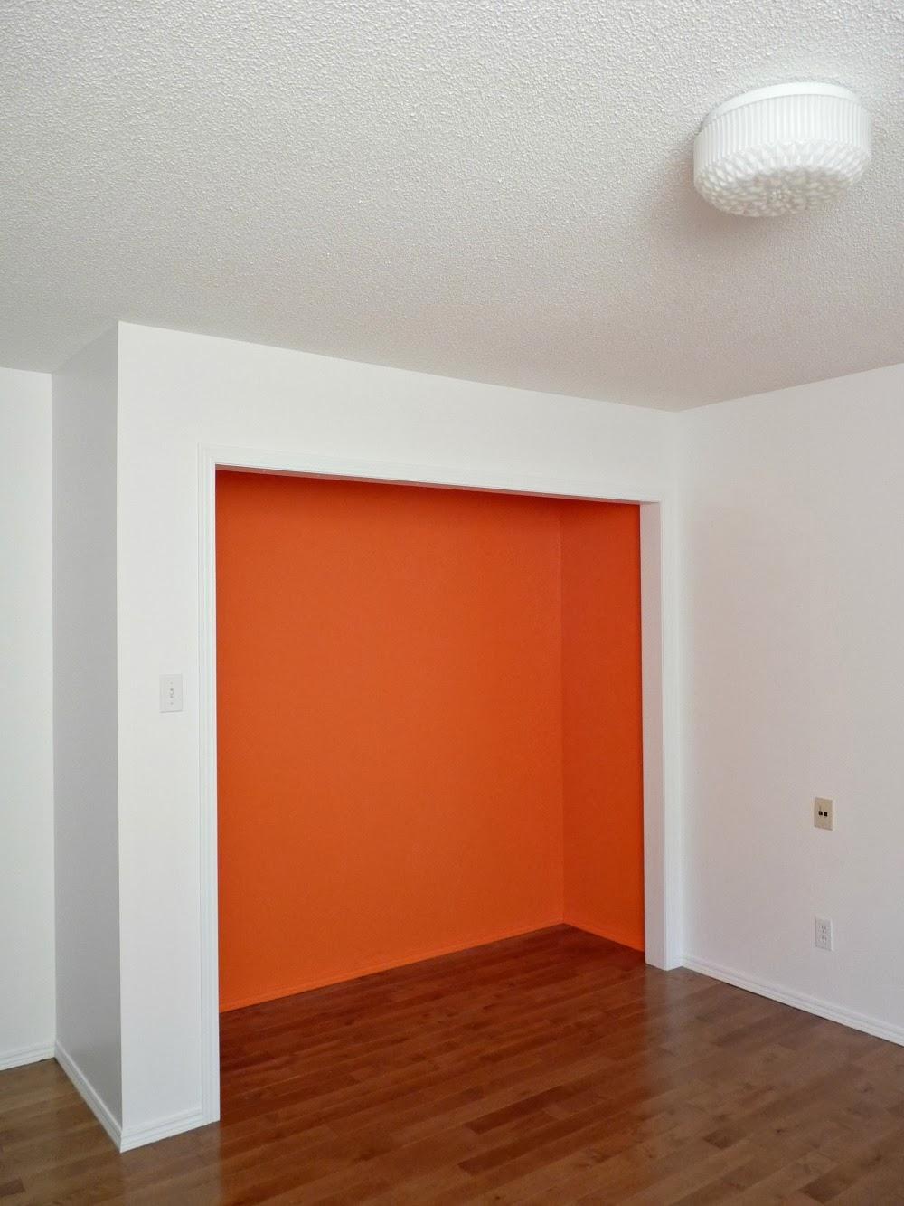 Bright Closet Interior