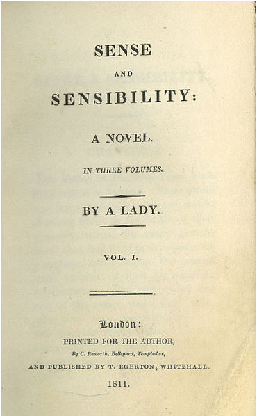 pride and prejudice sense and sensibility essay Documents similar to pride & prejudice essay mansfield park, northanger abbey, persuasion, pride and prejudice, sense and sensibility by jane austen.