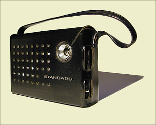 KHJ Boss Transistor Radio (Front)
