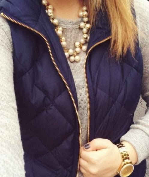 Navy and Pearls