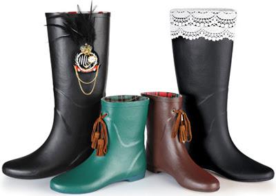 colección botas de agua Gioseppo
