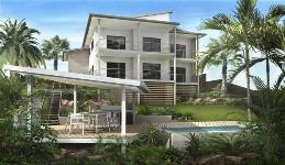 Sloping land home designs