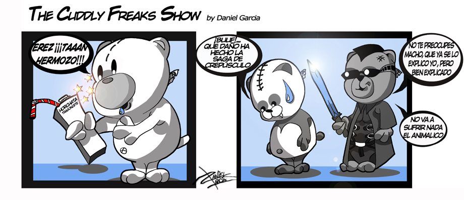 The Cuddly Freaks Show - Capitulo 7: Horchata gusiluz