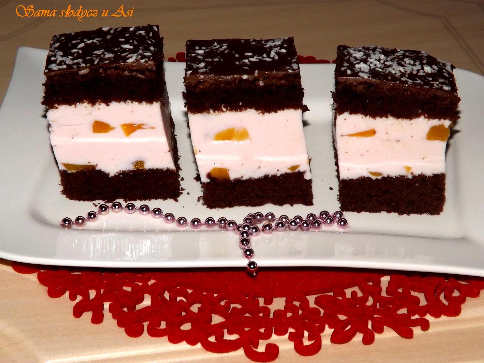 Ciasto kakaowe z serem