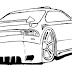 Desenhos Bonitos de Carros para Colorir