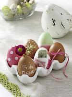 Декорация за дома за Великден с яйца