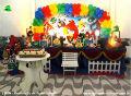 Angry Birds - Temas para decoração de festa de aniversário infantil - mesa temática infantil