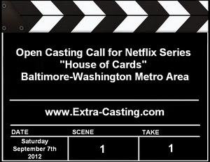 House of Cards Bel Air Open Casting Call