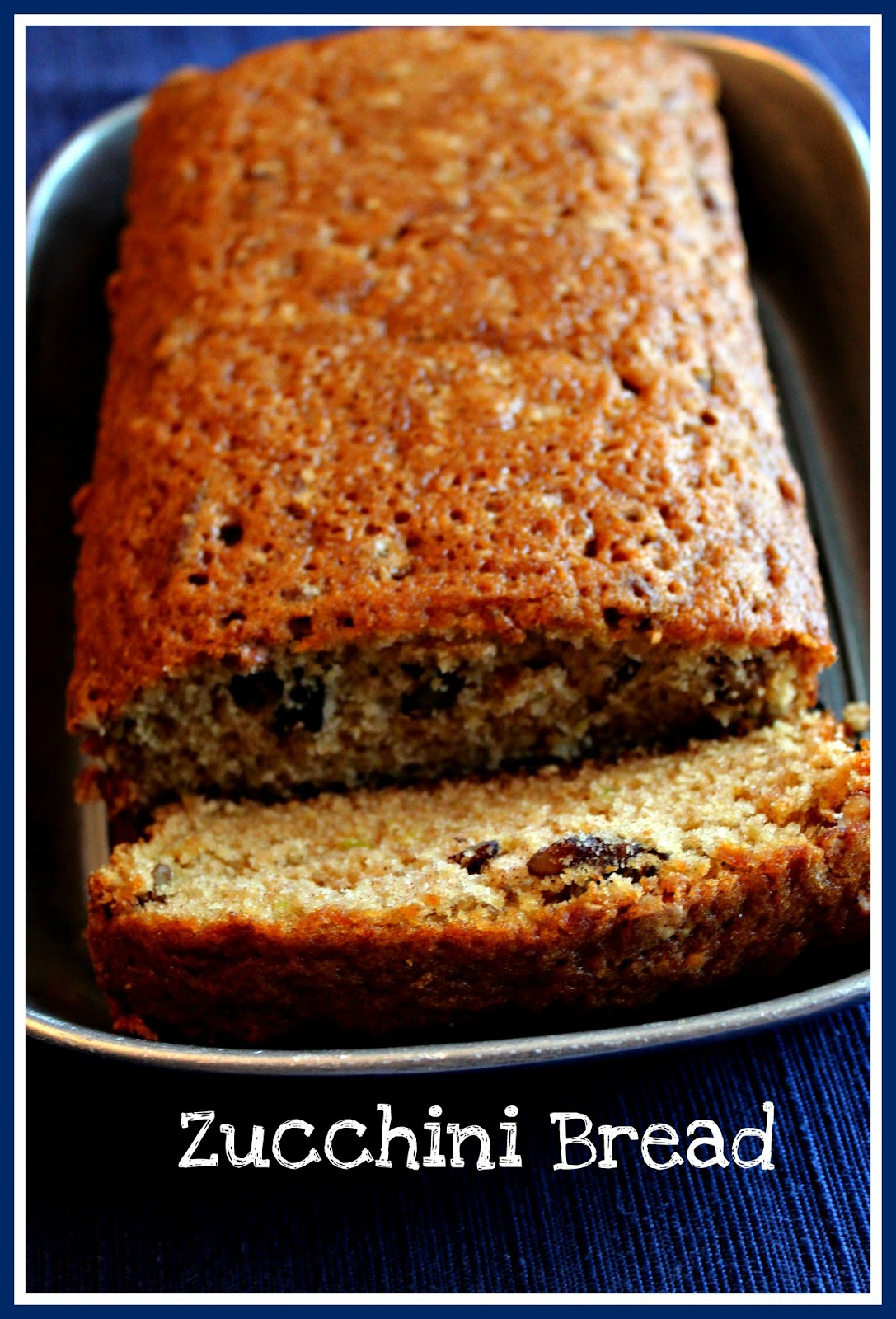 Sweet Tea and Cornbread: Zucchini Bread!