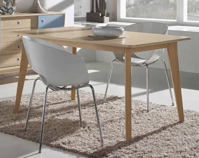 Mesas de estilo n rdico para el comedor for Mesa comedor estilo nordico