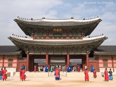 istana tradisional korea selatan