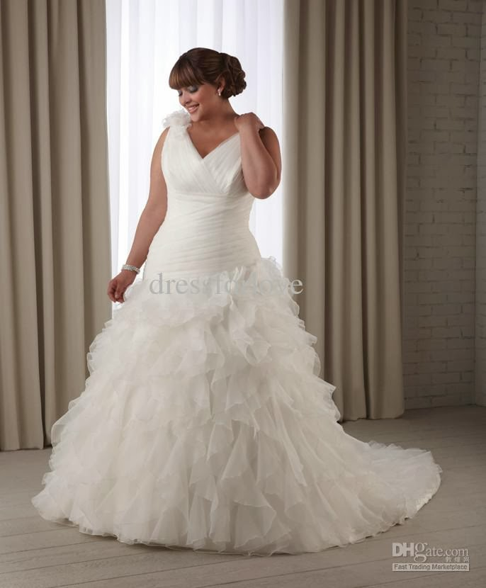 Cheap Wedding Dresses For Plus Size Brides 93