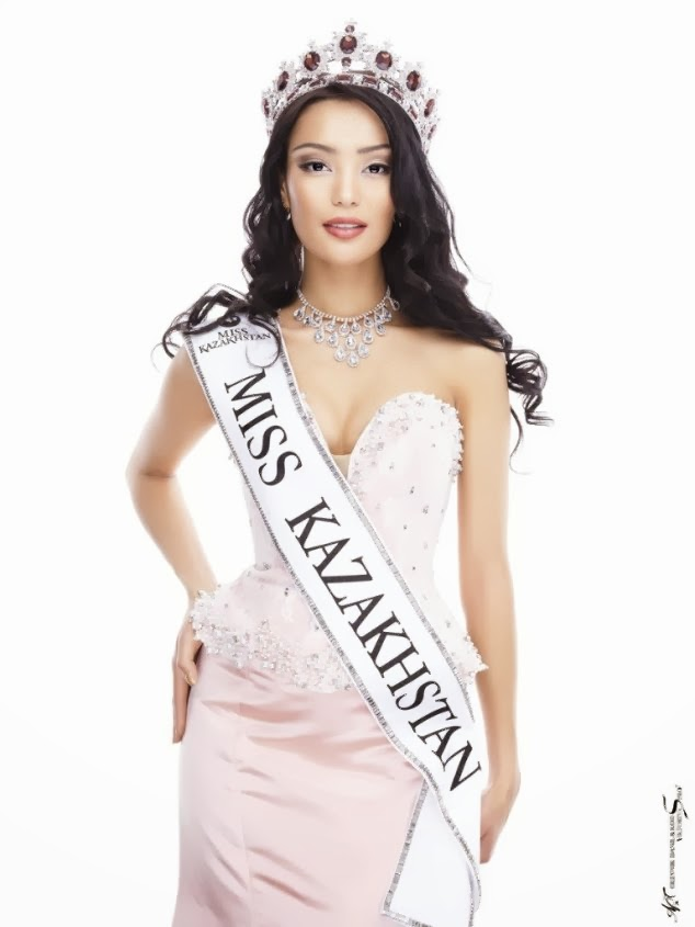 Eye For Beauty Miss Kazakhstan 2013 Crowned