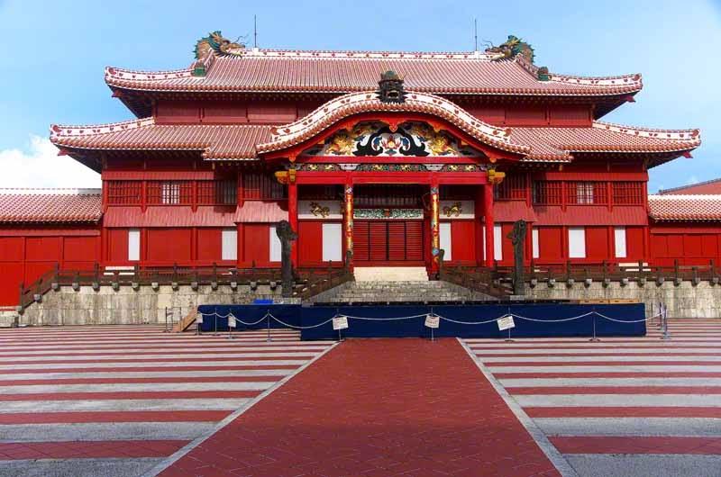 Shuri Castle,daylight