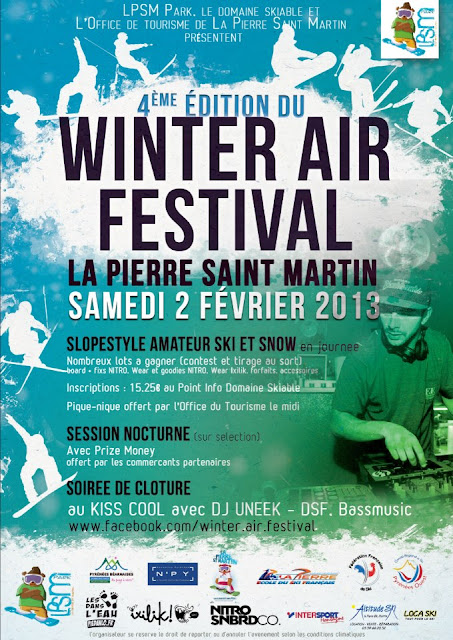 Winter Air Festival 2013 LA PIERRE SAINT-MARTIN