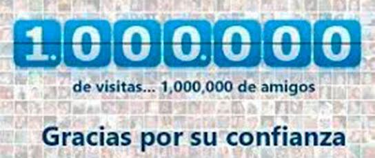 ¡¡¡1.000.000  de VISITAS!!!