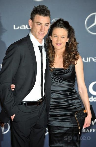 Laurent Koscielny with sexy, Wife Claire Koscielny
